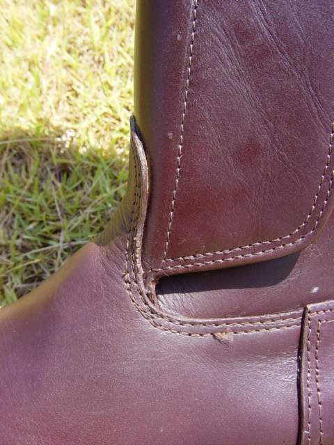 Kenyan Polo Boot - Dark Tan Oiled Leather