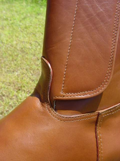 Kenyan Polo Boot - Light Tan Oiled Leather